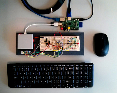 Electronic Projects Lab for Raspberry Pi with BitScope DSO.