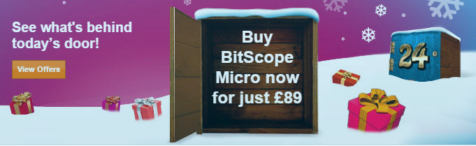 BitScope Micro and MP01A Christmas Bundle Offer.